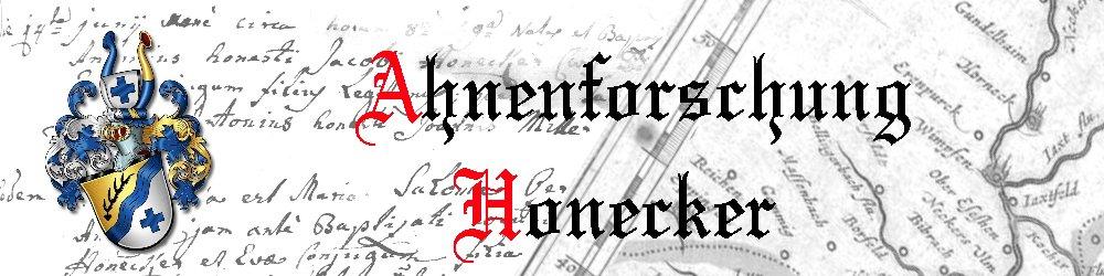 Ahnenforschung Honecker